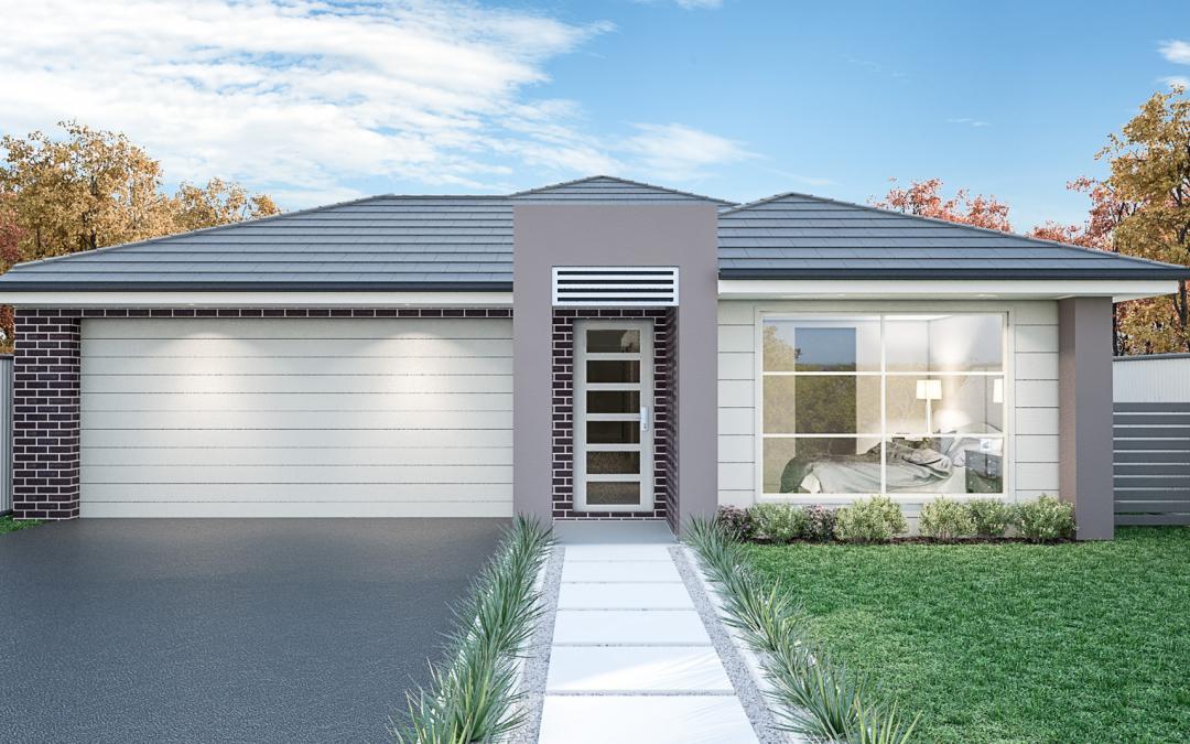 HOUSTON FACADE home designs sydney