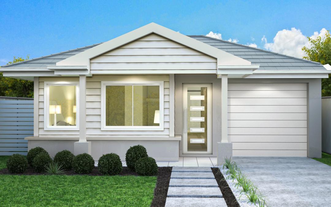 Hampton-facade-single-storey-single-garage