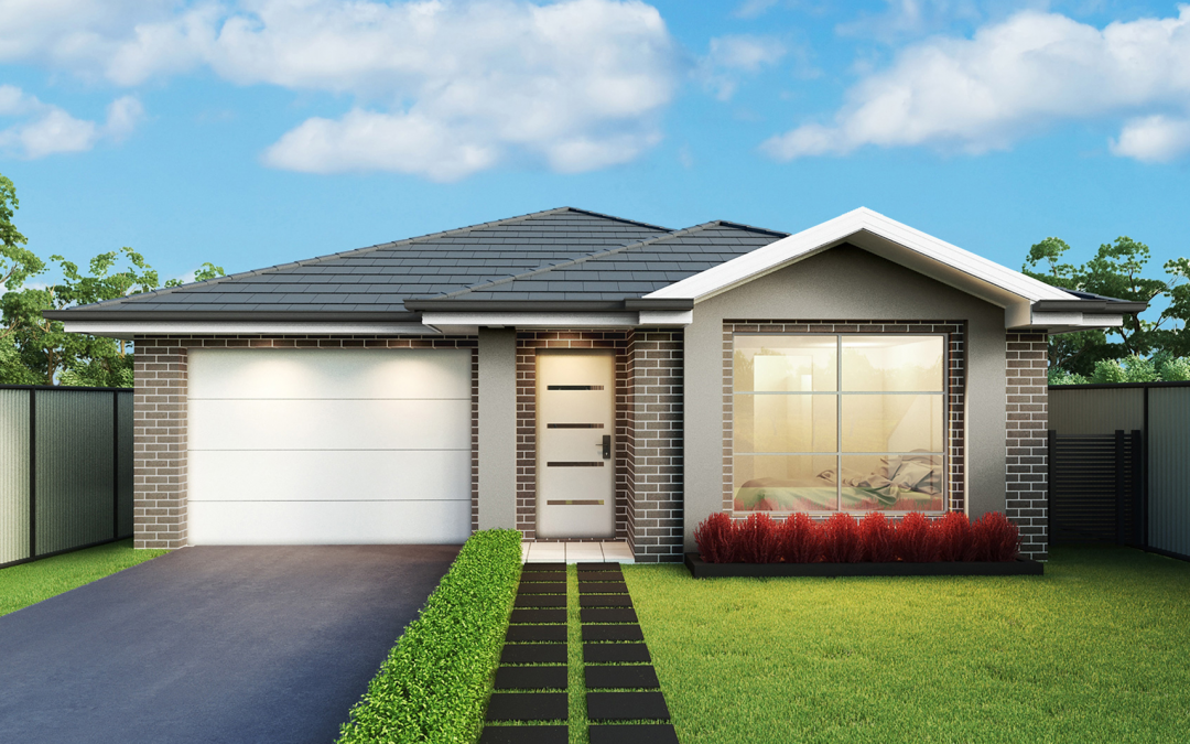 Hempstead-single-storey-facade-single-garage-left Display Homes Sydney
