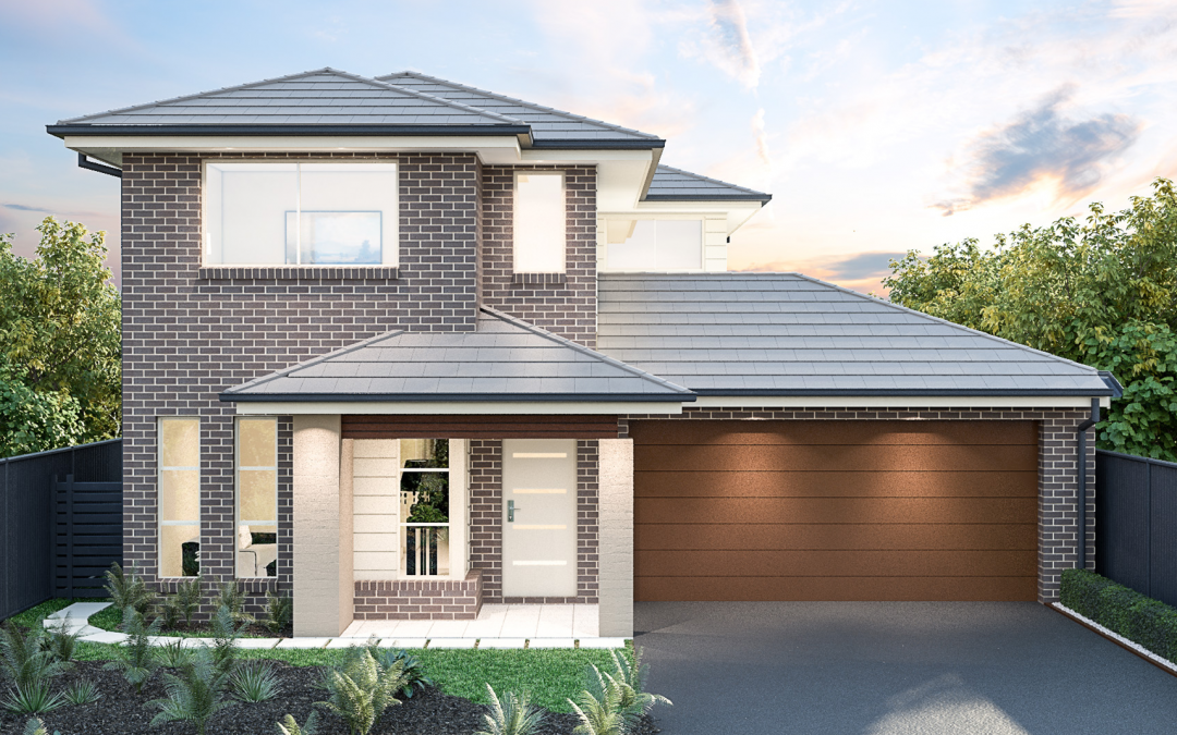 Ontario Facade double storey house design House and Land Packages
