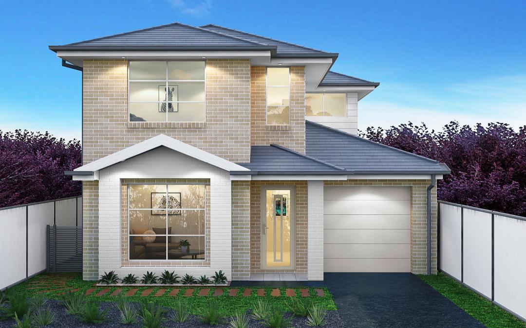 Syracruse-single-garage-double-storey-facade-design Building Your own Home