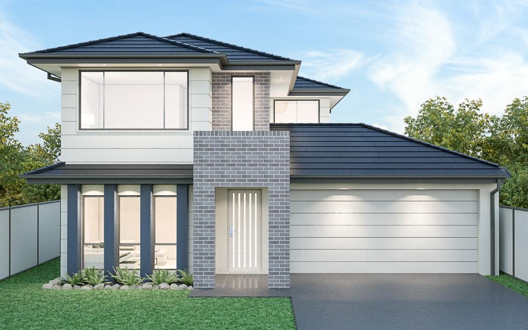 Westpoint Facade 2 storey house design New Home Builders