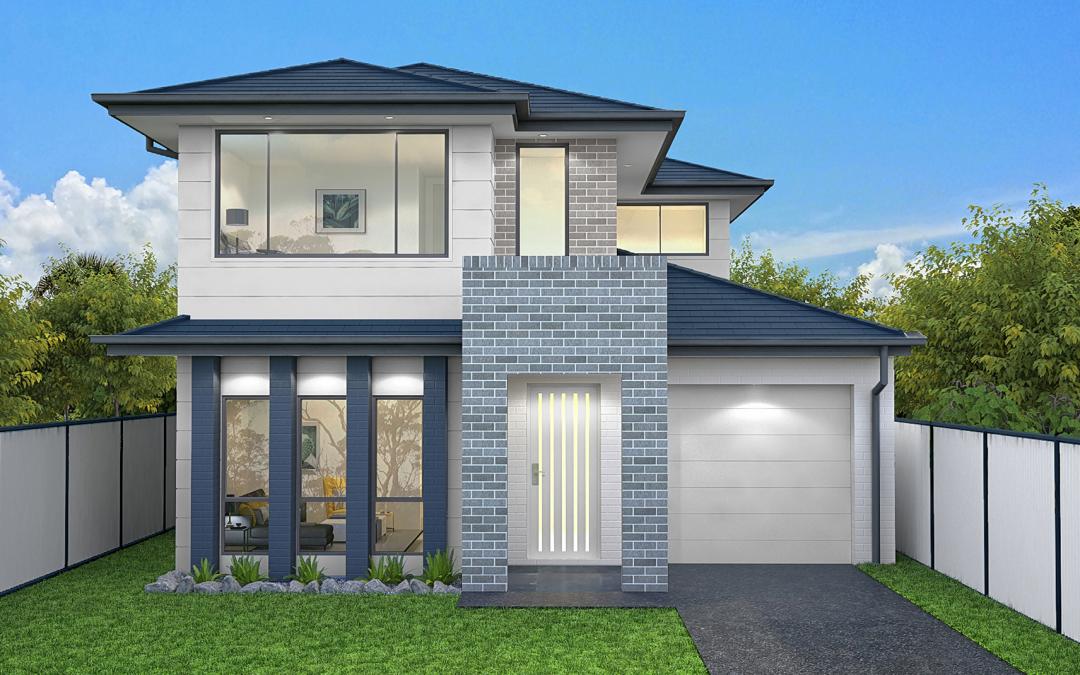 Westpoint Facade house design Home Builders
