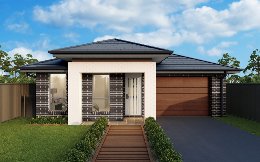 Woodhaven-single-storey-facade-single-garage First Home Buyers